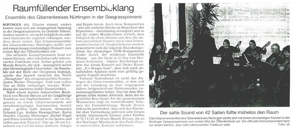 007 - NürtingerZeitung 24.4.2002